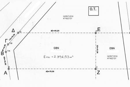 Άνω Λιόσια πώληση οικοπέδου 2.400 τ.μ