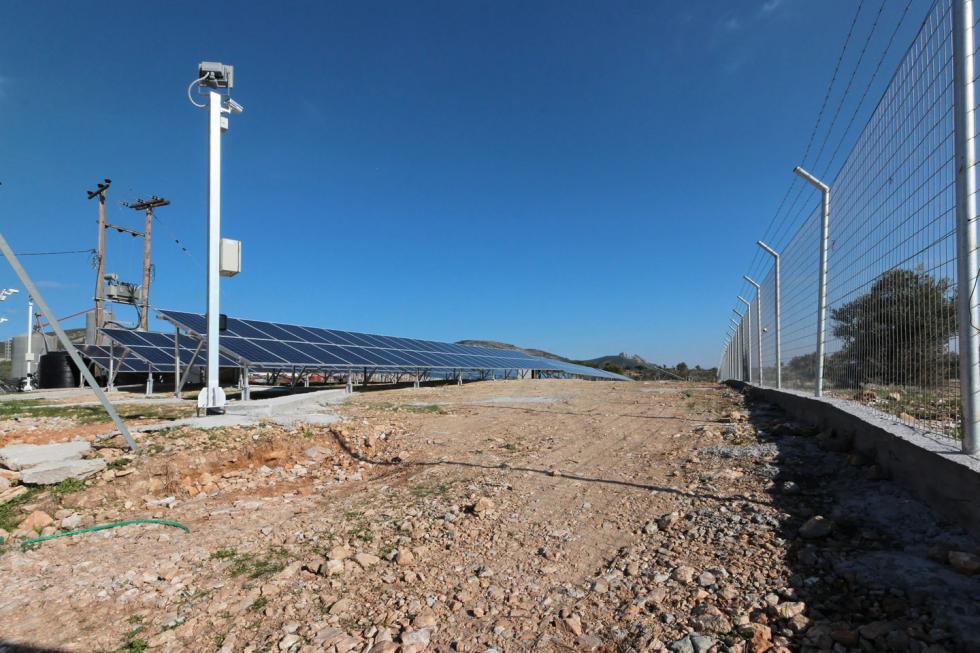 Δυτική Αττική πωλείται φωτοβολταϊκό πάρκο 100 KW