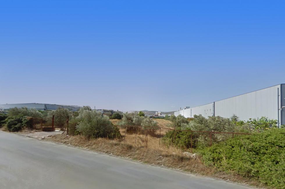 Κορωπί βιομηχανικό οικόπεδο 5.500 τ.μ προς πώληση