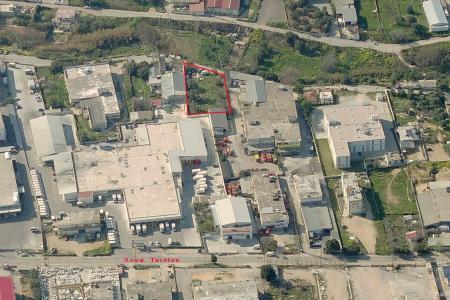 Αχαρνές βιομηχανικό οικόπεδο 1.450 τ.μ προς ενοικίαση