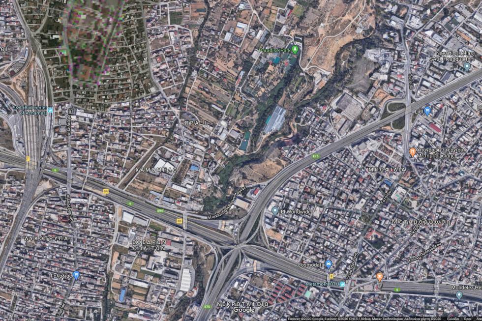 Αχαρνές βιομηχανικό οικόπεδο 3.000 τ.μ προς πώληση