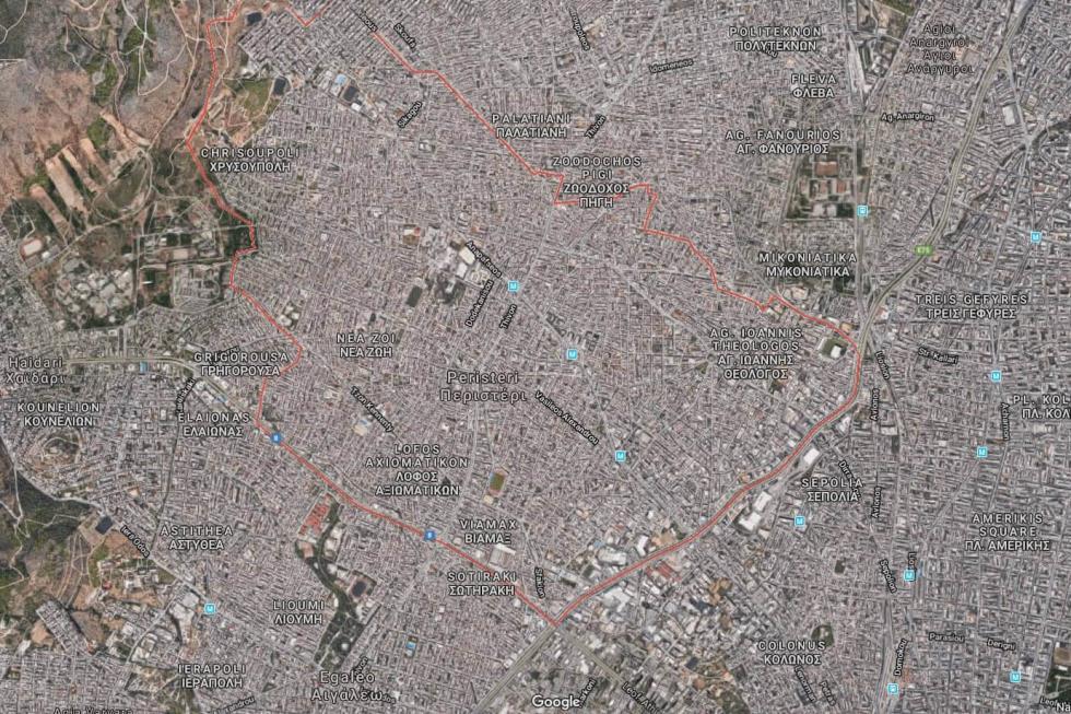 Οικόπεδο 8.000 τ.μ προς πώληση, Περιστέρι