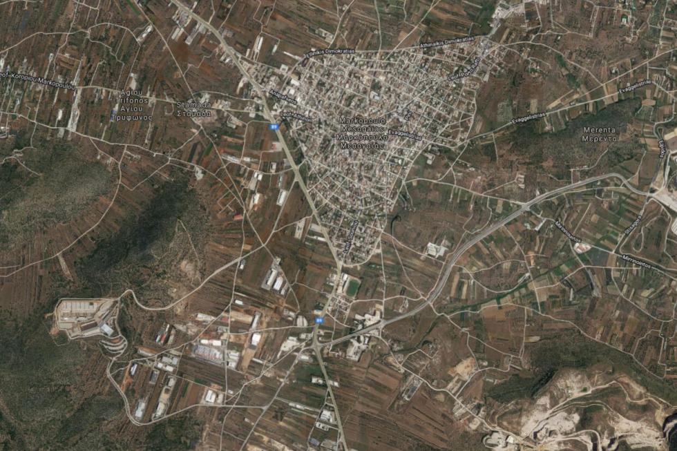 Οικόπεδο βιομηχανικό 17.000 τ.μ πωλείται, Μαρκόπουλο