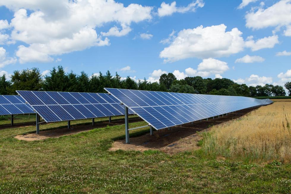 Φωτοβολταϊκό πάρκο 500 kw υπό κατασκευή
